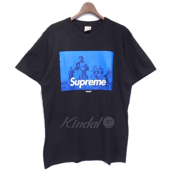 【中古】SUPREME×UNDERCOVER 「SEVEN SAMURAI」 サムライ Tシャツ ブラック サイズ:M 【送料無料】 【150818】(シュプリーム アンダーカバー)