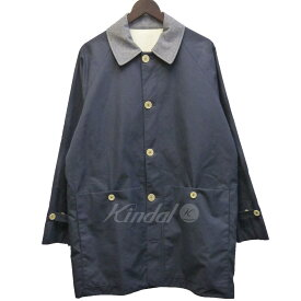 【中古】S.E.H KELLY 「BRITISH VENTILE MAC COAT」 襟切替ステンカラーコート 【045394】 【KIND1854】