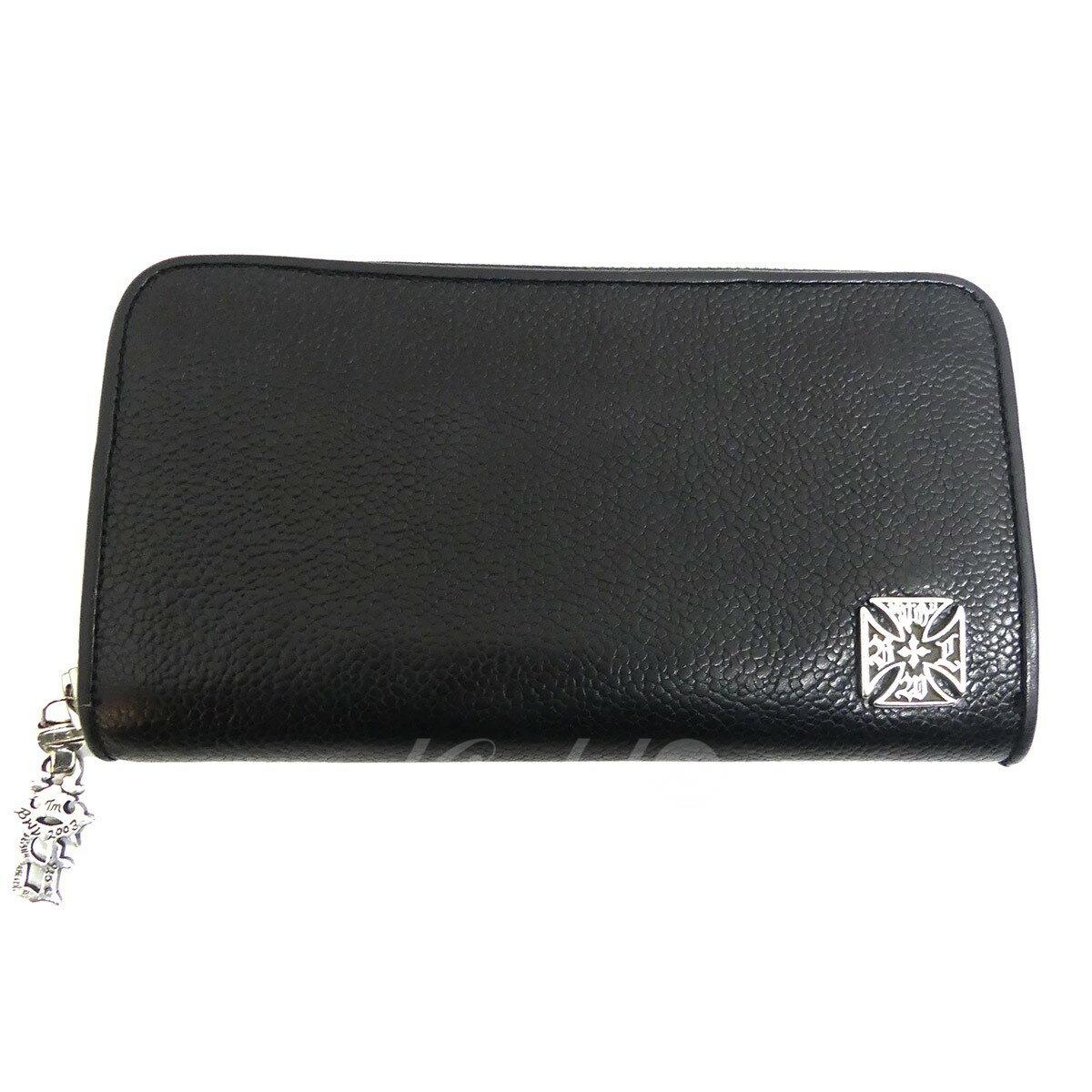 【中古】Bill Wall Leather ロングジップレザーウォレット W945 ブラック 【送料無料】 【260918】(ビルウォールレザー)