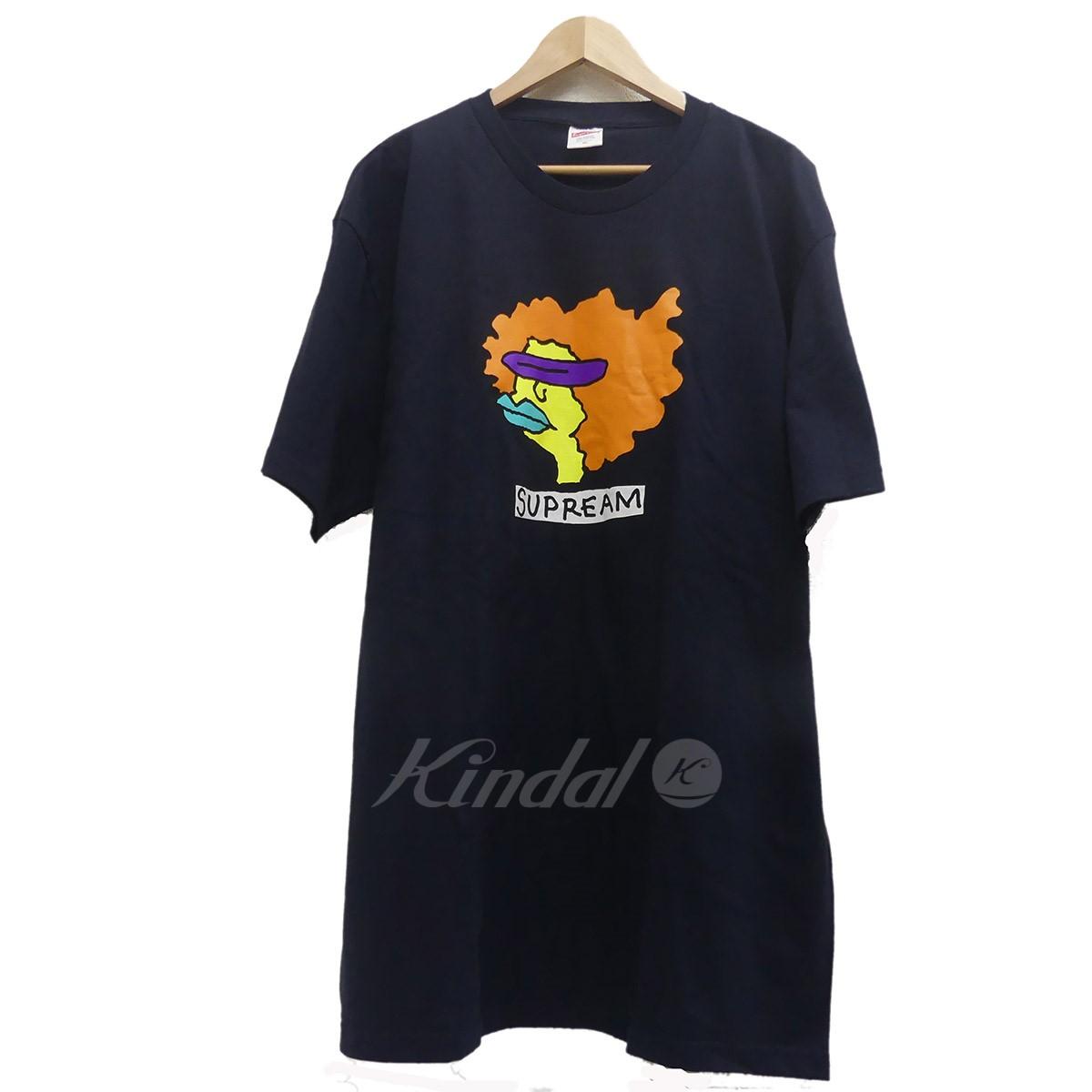【中古】SUPREME GonzTee 2017AW 半袖Tシャツ ネイビー サイズ:XL 【送料無料】 【041118】(シュプリーム)