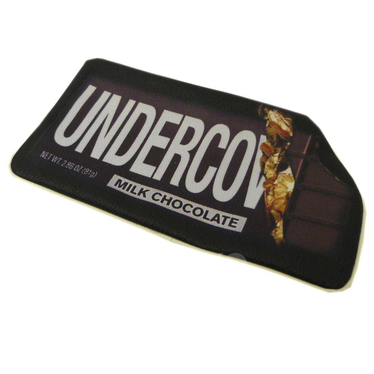 【中古】UNDER COVER 14SSチョコレート転写ポーチ ブラック×ホワイト サイズ:- 【181118】(アンダーカバー)