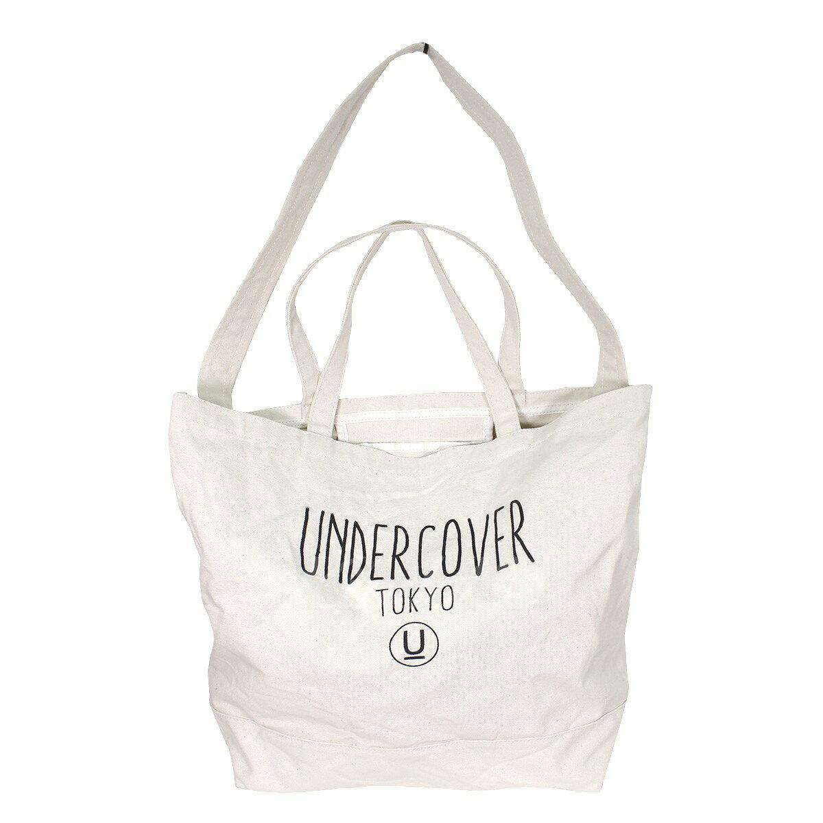 【中古】UNDER COVER 2Wayロゴショルダートートバッグ ナチュラル サイズ:- 【送料無料】 【181118】(アンダーカバー)