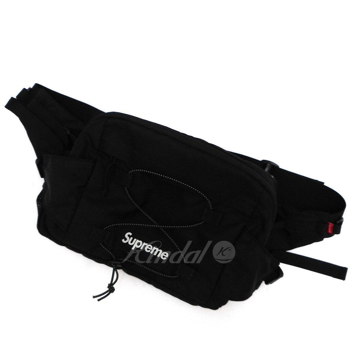 【中古】SUPREME 17SS Waist Bag ウエストバッグ ブラック 【送料無料】 【181118】(シュプリーム)