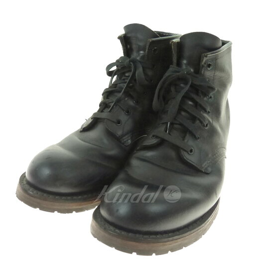 RED WING BECKMAN ROUND BOOTS比賽提高皮革長筒靴9014 kindal