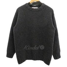 【中古】BLACK&BLUE ウールニットセーター 【168459】 【KIND1828】