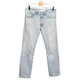 【中古】COSMIC WONDER JEANS USED加工 ニーパッチ デニム パンツ 【009335】 【KIND1715】