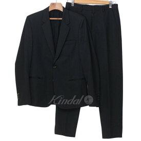 【中古】Martin Margiela 10 2013AW 2ボタン セットアップスーツ ブラック サイズ:44 【020319】(マルタンマルジェラ 10)