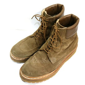 909076352f6d 中古 【5月20日 お値段見直しました】【中古】nonnative18AW HIKER BOOTS COW LEATHER ブーツ ブラウン  サイズ:41