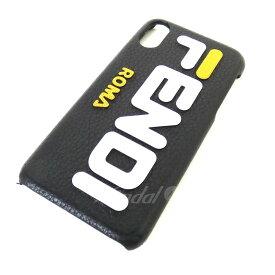 cc31ce8ed2 【中古】FENDI × FILA 18AW iphoneXケース ブラック サイズ:- 【送料無料