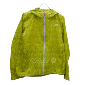 【8月15日 お値段見直しました】【中古】THE NORTH FACEValley Trace Jacket ×mina Perhonen イエロー サイズ:XL