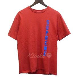 【中古】SUPREME×THRASHER 15SS 「Thrasher Tee」 フルロゴTシャツ レッド サイズ:M 【140319】(シュプリーム×スラッシャー)