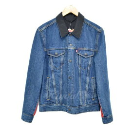 【中古】NIKE×LEVIS REVERSIBLE TRUCKER JACKET リバーシブルデニムジャケット 72334 【064524】 【KIND1715】