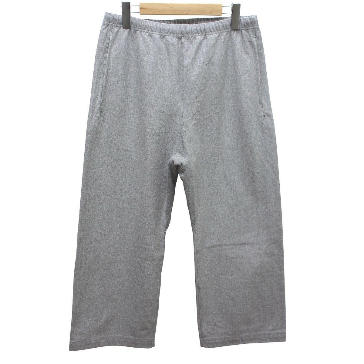 【中古】AURALEE STAND UP EASY PANTS 18SS イージーパンツ グレー サイズ:3(S) 【送料無料】 【220319】(オーラリー)