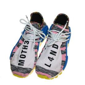 5bf4a0345  中古 adidas Pharrell Williams AFRO SOLAR HU NMD スニーカー マルチカラー サイズ:27cm