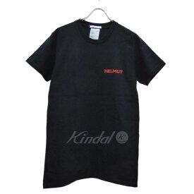 【中古】HELMUT LANG Generic Tee 半袖Tシャツ ブラック サイズ:M 【300319】(ヘルムートラング)