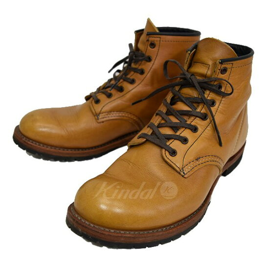 RED WING BECKMAN ROUND BOOTS Beckman Instruments局長筒靴9013 kindal