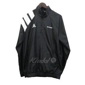 【中古】Gosha Rubchinskiy×adidas 17AW 「Zipcollar Jacket」 ハーフジッププルオーバージャケット 【164187】 【KIND1735】