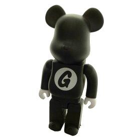 【中古】GOOD ENOUGH×BEAR BRICK 25周年記念「BLACK 400%」400%ベアブリック ブラック サイズ:- 【030719】(グッドイナフ ベアブリック)