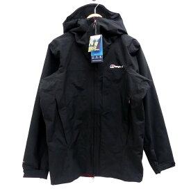 【中古】Berghaus CHOMBU SHELL JKT マウンテンパーカー ブラック サイズ:US M/ASIA L 【050719】(バーグハウス)