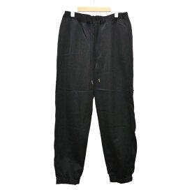 【中古】SASQUATCHfabrix. SHINY VENTILATION PANTS パンツ 2019S/S ブラック サイズ:M 【280719】(サスクワァッチファブリックス.)