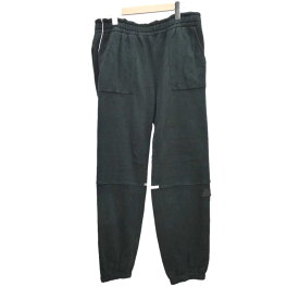 【中古】C.E WHITE LINE JOG PANTS ブラック サイズ:L 【030819】(シーイー)