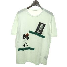【中古】Dior Homme 2016AW プリントTシャツ 【248180】 【KIND1828】