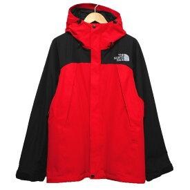 【1月20日 お値段見直しました】【中古】THE NORTH FACEMOUNTAIN JACKET NP61540 マウンテンジャケット レッド×ブラック サイズ:M