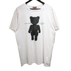 【中古】Dior Homme HARDIOR T-SHIRT ベアプリント Tシャツ 【025023】 【KIND1828】