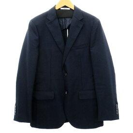 【中古】MACKINTOSH PHILOSOPHY 2Bテーラードジャケット ネイビー サイズ:40 【150919】(マッキントッシュフィロソフィー)