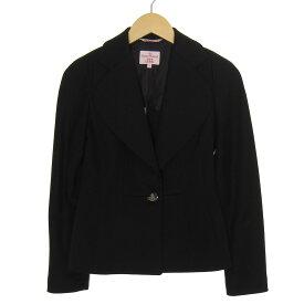 【中古】Vivienne Westwood テーラードジャケット ブラック サイズ:M 【150919】(ヴィヴィアンウエストウッド)
