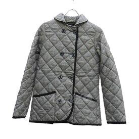【中古】mackintosh キルティングジャケット ブラック×ホワイト サイズ:32 【160919】(マッキントッシュ)