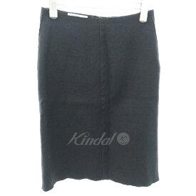 【中古】PRADA タイトスカート グレー サイズ:42 【160919】(プラダ)