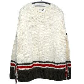 【中古】Martin Margiela14 17AW REPLICA 1970s unfinished hand-Knitted アイボリー サイズ:S 【280919】(マルタン・マルジェラ14)