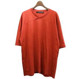 【中古】MACKINTOSH 0002(×Kiko Kostadinov)Tシャツ レッド サイズ:XL 【3月30日見直し】