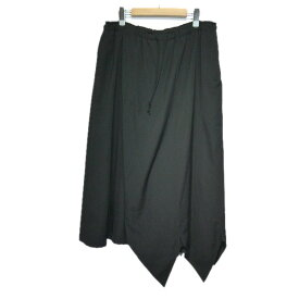【中古】B Yohji Yamamoto B/ZZサンカクパンツ ブラック サイズ:3 【131019】(ビー ヨウジヤマモト)