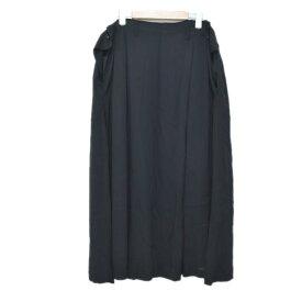 【中古】YOHJI YAMAMOTO スカート ブラック サイズ:2 【151019】(ヨウジヤマモト)