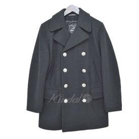 【中古】GLOVER ALL ウールPコート ブラック サイズ:S 【181019】(グローバーオール)
