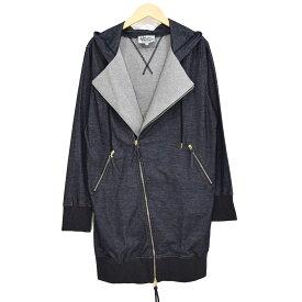 【中古】Vivienne Westwood MAN ロングライダースパーカー 2018SS ネイビー サイズ:48 【191019】(ヴィヴィアンウエストウッドマン)