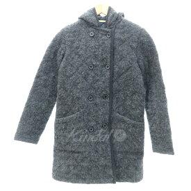 【中古】Traditonal Weatherwear ERITH ウールキルティングコート グレー サイズ:32 【201019】(トラディショナルウェザーウェア)