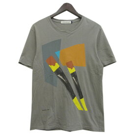 【中古】UNDER COVER グラフィックプリントTシャツ グレー サイズ:2 【201019】(アンダーカバー)