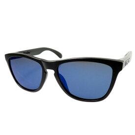 【中古】OAKLEY 【Frogskins】サングラス フレーム:ブラック レンズ:ブルー系 【221019】(オークリー)