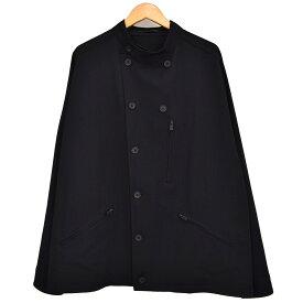 【中古】YOHJI YAMAMOTO pour homme Stand Collar Topper スタンドカラージャケット 2019SS ブラック サイズ:2 【221019】(ヨウジヤマモトプールオム)