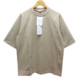 【中古】SCYE ハイゲージストレッチ裏毛 ラグランスリーブ Tシャツ 2019SS ベージュ サイズ:40(M) 【261019】(サイ)