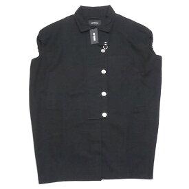 【中古】RAF SIMONS 2018SS Sleeveless couture coat ノースリーブ コート ブラック サイズ:44 【031119】(ラフシモンズ)