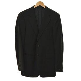 【中古】GUCCI サイドベンツ2Bスーツ ブラック サイズ:46R 【041119】(グッチ)