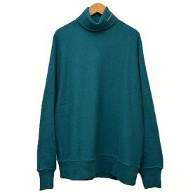 【中古】Calvin Klein 205W39NYC ダメージ加工 オーバーサイズ タートルネック スウェット ブルー サイズ:XS 【131119】(カルバンクライン)