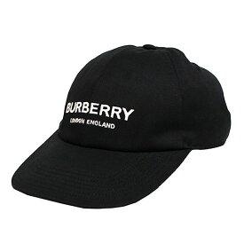 【中古】BURBERRY 19AW エンブロイダリーロゴ ベースボールキャップ ブラック サイズ:S 【131119】(バーバリー)