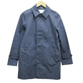 【中古】THE NORTH FACE nanamica GORE-TEX SOUTIEN COLLAR COAT ネイビー サイズ:M 【021219】(ザノースフェイス)