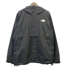 【中古】THE NORTH FACE Scoop Jacket マウンテンパーカー ブラック サイズ:M 【041219】(ザノースフェイス)