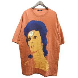 【中古】UNDER COVER 2019SS デヴィッドボウイビッグTシャツ オレンジ サイズ:FREE 【301219】(アンダーカバー)